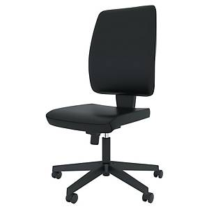 Melik synchro chair with antibacterian coating black