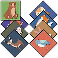 Scatter Mats - Pack of 8