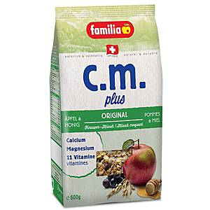 Knusper-Müesli Familia c.m. plus Original, Portion à 600g
