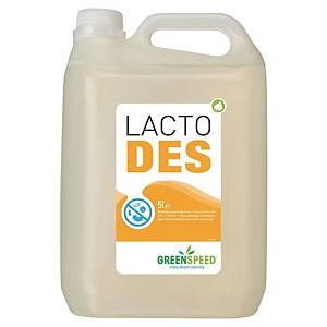 Flächendesinfektionsmittel Greenspeed Lacto Des auf Milchsäure-Basis, 5 Liter