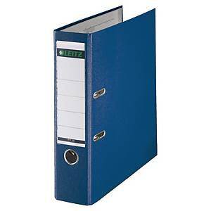 Leitz 180° Polypropylene A4 , 80mm Spine, Lever Arch File Blue