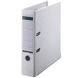 Leitz 180° PP Lever Arch File A4 80mm White