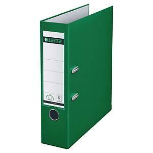 Ordner Leitz 1010, PP-kaschiert, A4, Rückenbreite 80mm, grün