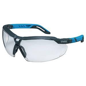 Skyddsglasögon Uvex i-5, antracitgrå/blå