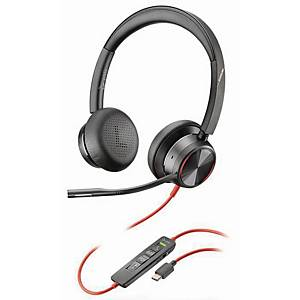 Headset Plantronics Blackwire 8225M, USB-C