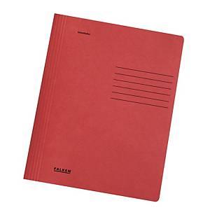 PK25 FLAT FILE MANILLA RED A4