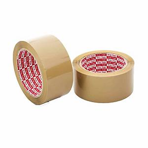 Opp Tape Brown 43 micron 48mm x 80m - Pack of 6