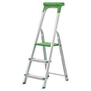 Safetool Ladder 3 Steps Aluminium