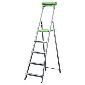 Safetool Ladder 5 Steps Aluminium