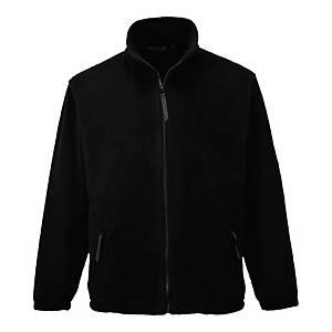 Bluza polarowa PORTWEST F400 Argyll, czarna, rozmiar S
