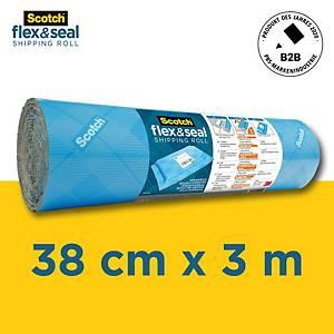 Matériel d'emballage Scotch Flex&Seal, largeur 38.1cm, rouleau de 3.05m