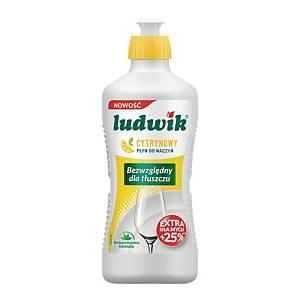 Płyn do mycia naczyń LUDWIK, cytrynowy, 450 g