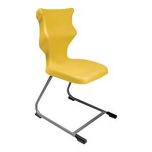 Krzesło ENTELO C-line, rozmiar 3, żółte