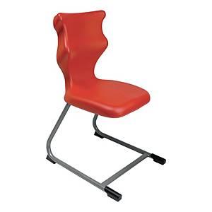 Krzesło ENTELO C-line, rozmiar 4, czerwone