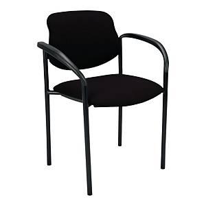Krzesło NOWY STYL Styl 4L-Arm, czarne