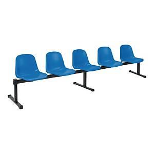 Zestaw siedziskowy NOWY STYL 5-osobowy, niebieski