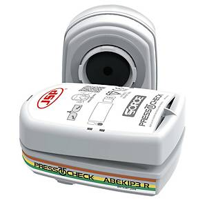 Filtre anti-poussières ABEK1P3 JSP PressToCheck™ - la paire