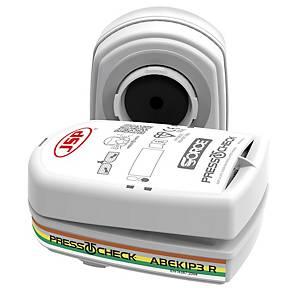 Conjunto de filtros JSP Press to Check - ABEK1P3 - vapores de amoníaco