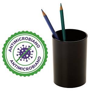 Copo porta-lápis antimicrobiano Archivo 2000 - preto