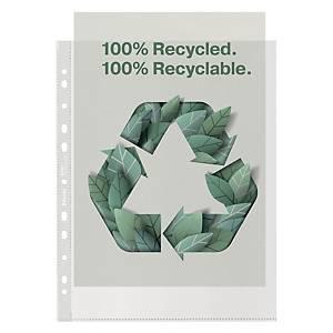 Buste a perforazione universale Esselte Office riciclate antiriflesso - conf. 50