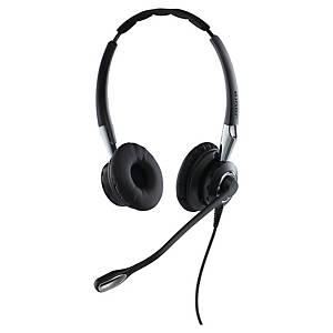 Jabra BIZ ™ 2400 II Duo Headset, QD, Geräuschunterdrückung