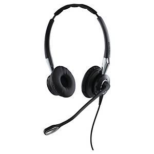 Jabra BIZ™ 2400 II Duo telefonos headset, QD, zajcsökkentés