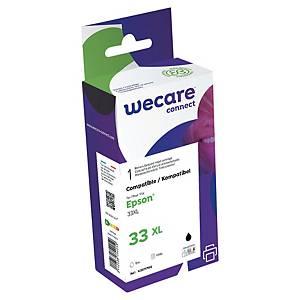 Wecare remanufactured Epson 33XL (C13T02G74010) inkt cartridge, zwart/3 kleuren