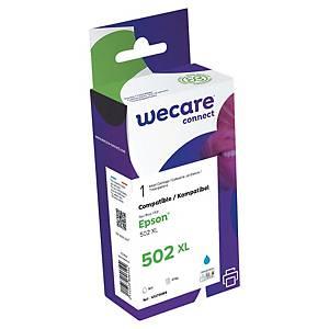 WeCare kompatibilis tintapatron Epson 502XL (C13T02W24010), ciánkék