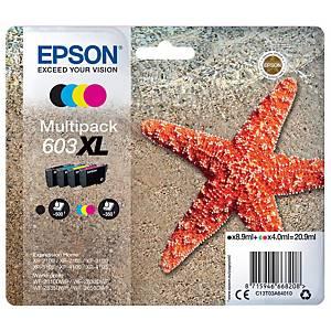 Cartuccia rigenerata ink-jet Wecare C13T03A64010 4 colori