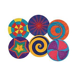 Houten spinner, pak van 24 spinners