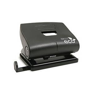 Rapesco Eco Medium 2-lyukú lyukasztó, 25 lap, fekete
