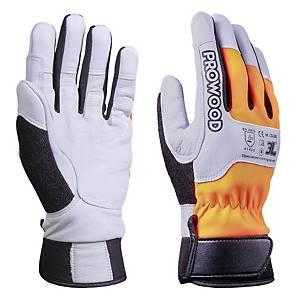 Par de guantes motoserrista 3L Prowood - talla 9