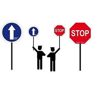 SUST. SEÑAL DE MANO STOP/DIRECCION OBLIG