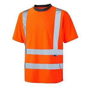 Leo Braunton T02 T-Shirt S Orange