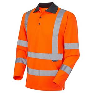 Leo Woolsery P06 Long Sleeve Shirt S Orange