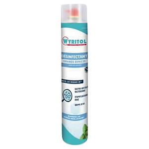 Désodorisant désinfectant grands espaces Wyritol - aérosol de 750 ml