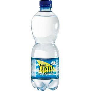 Fonte Linda Mineralwasser mit Kohlensäure 50 cl, PET, Packung à 24 Flaschen