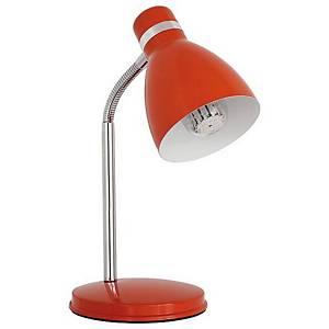 Stolní lampa Zara 07563, oranžová