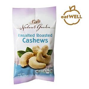 Nature s Garden Roasted Uunsalted Cashews 28G - Pack Of 5