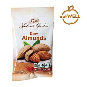 Nature s Garden Raw Almonds 28G - Pack Of 5