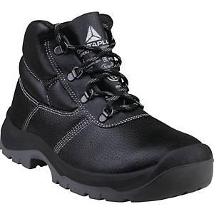 Bezpečnostná členková obuv Deltaplus Jumper3, S3 SRC, veľkosť 45, čierna