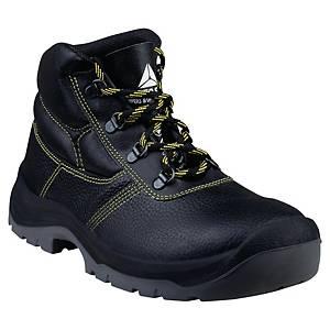 Chaussures de sécurité montantes Deltaplus Jumper3 S1P - noires - pointure 45