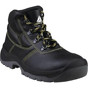 Bezpečnostní kotníková obuv Deltaplus Jumper3, S1P SRC, velikost 47, černá