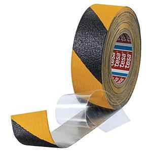 tesa® 60955 anti-slip tape, 50 mm x 18 m, yellow/black