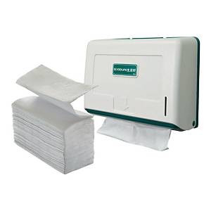 GOODLIFE Hand Towel Dispenser with M-Fold Towel