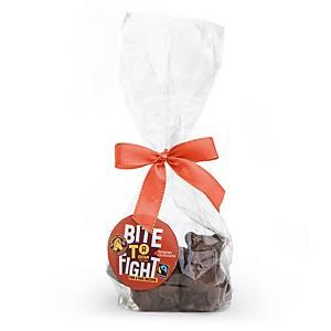 Oxfam minifiguurtjes melkchocolade, 12 pakken van 5 x 15 gram