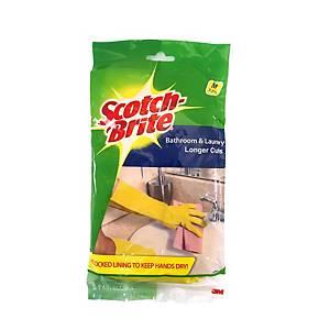 3M Scotch-Brite Bathroom  Gloves - Size M