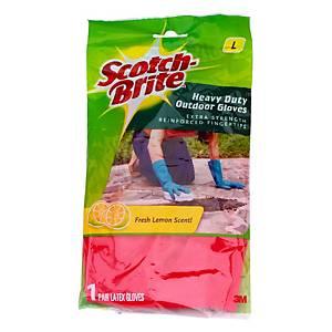 3M Scotch-Brite Heavy Duty Gloves - Size L