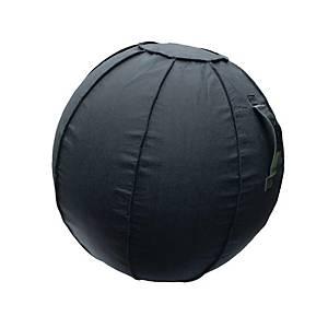 Sitzball Floortex 65 cm, schwarz