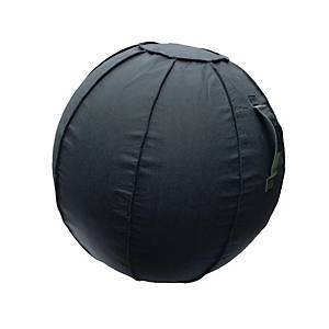 Sitzball Floortex 75 cm, schwarz